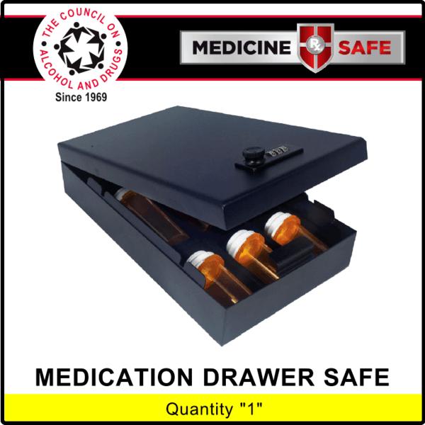 Medicine Safe For Drawers